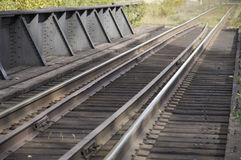 Bridge Railroad Tracks Stock Photography