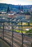 bridge railroad view Стоковое Изображение RF