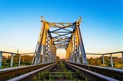 Bridge railway path Stock Photography
