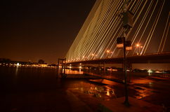 Bridge, Rama 8 bridge Stock Photography