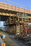 Bridge re-construction 2. Stock Photos