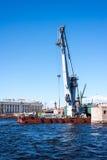 Bridge reconstruction Stock Photo