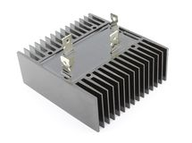 Bridge rectifier. On white background Royalty Free Stock Photography
