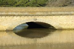 Bridge and reflection Stock Image