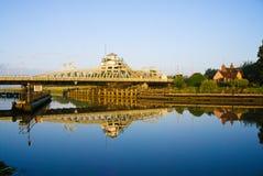 Bridge reflection Royalty Free Stock Image