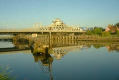 Bridge reflection Stock Image