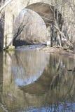 Bridge Reflection Stock Images