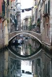 The Bridge reflection in Venice. Italy royalty free stock images