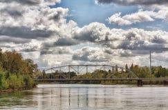 Bridge Reflections Royalty Free Stock Photography