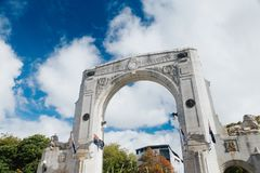 Bridge of Remembrance at day Royalty Free Stock Images