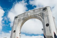 Bridge of Remembrance at day Stock Photography