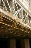 Bridge repair scaffolding C Royalty Free Stock Photos