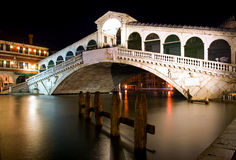 Bridge Rialto - Venice Stock Images