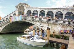 Bridge of Rialto. Venice. Royalty Free Stock Images