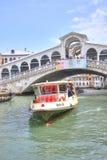 Bridge of Rialto. Venice. Stock Photos
