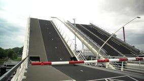 The bridge rising up stock video footage
