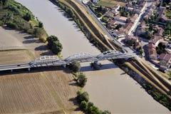 Bridge on the River Stock Image