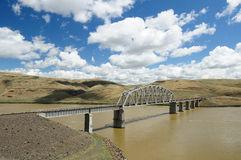 Bridge and river Stock Photography