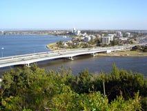 Bridge and river Royalty Free Stock Photo