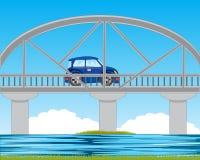 Bridge through river Stock Photos