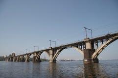 Bridge about river Stock Image