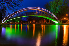 Bridge on the River Great Ouse in Bedford, England Royalty Free Stock Images
