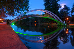 Bridge on the River Great Ouse in Bedford, England Stock Photography