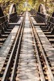 Bridge on the river Kuai in Kanchanaburi. The famous Bridge on the river kwai, Kanchanaburi province,Thailand Royalty Free Stock Photos