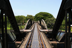 The Bridge on the River Kwai. Thailand Stock Images