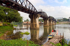 Bridge on the River Kwai Stock Image
