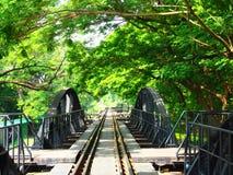 Bridge on the River Kwai Royalty Free Stock Photos