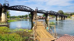Bridge on the River Kwai. Stock Photography