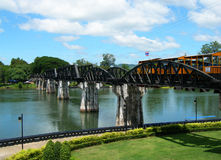The Bridge on the River Kwai. Thailand Stock Image