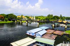 The Bridge on the River Kwai Royalty Free Stock Images