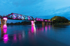 The Bridge on River Kwai Stock Photo