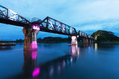 The Bridge on River Kwai Stock Photos