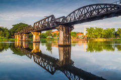 Free Bridge River Kwai, Kanchanaburi Stock Image - 42045831