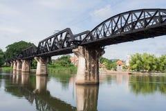 The Bridge of the River Kwai at Kanchanaburi Provine Stock Images