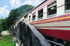 Bridge on the river Kwai Stock Photography