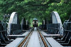 Bridge on the river Kwai Royalty Free Stock Photo