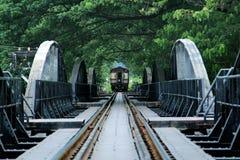 Bridge on the river Kwai Royalty Free Stock Photo