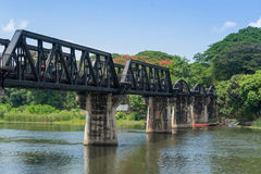 The Bridge of the River Kwai Royalty Free Stock Photos