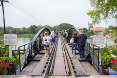 Bridge of the River Kwai stock images