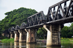 Bridge of the River Kwai is known as the Death Railway Stock Photo