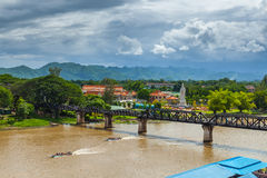 Bridge River Kwai. Stock Photography
