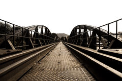 Bridge River Kwai. Royalty Free Stock Photo