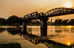 The bridge on the river Kwai Royalty Free Stock Photo