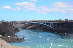 A bridge and River Royalty Free Stock Photo