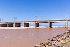 Bridge River Ocean Stock Photography