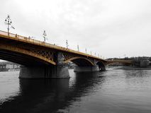 Bridge, River, Sky, Fixed Link royalty free stock photography